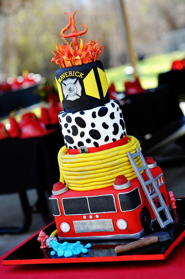 Fire Museum Birthday Party